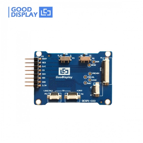Multifunction HAT connection adapter board for e-Paper display demo kit DESPI-C03