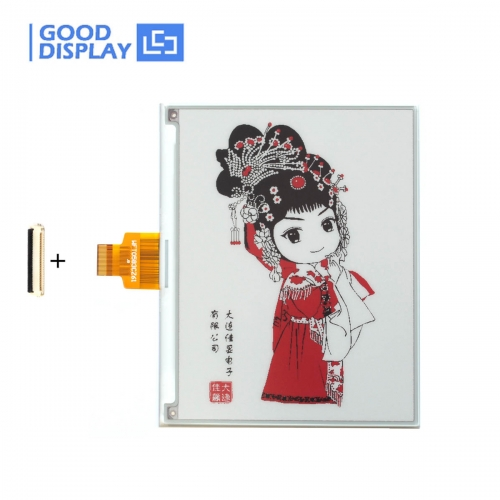 5.83 inch high resolution color red e-paper display Tri-color e-ink screen module buy GDEW0583Z83
