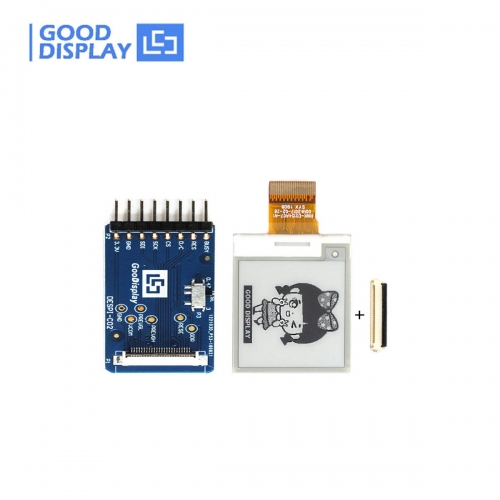 1.54 inch small eink display for support partial update GDEH0154D67 with HAT connection board