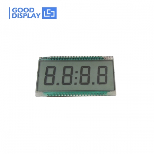 10 pieces, 4 Digits LCD Panel, EDS815, wide temperature/Semi-transparent, 3V/5V