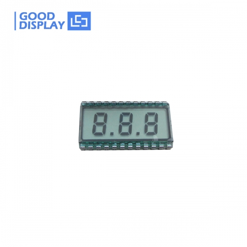 10 pieces, Ultra wide temperature 3 Digits LCD Panel Display, EDS812