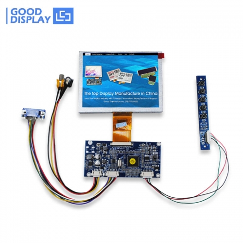 5 inch TFT LCD USB port VGA,Video input Digital display panel